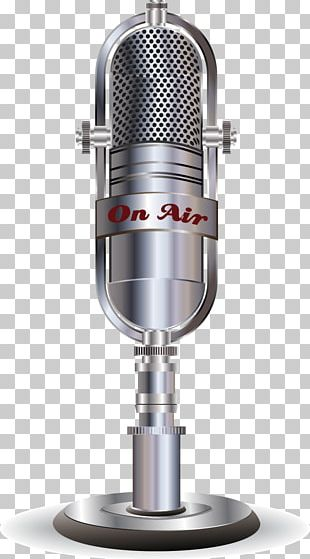 Microphone Karaoke Party Poster PNG