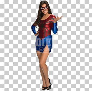 Spider-Man Spider-Girl Female Costume Superhero PNG