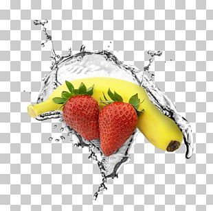 Strawberry Smoothie Banana Food PNG