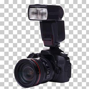 Digital SLR Camera Lens Photography Flash Single-lens Reflex Camera PNG