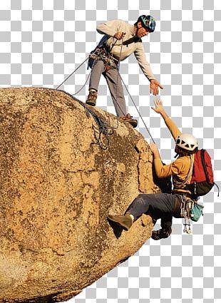 Sport Climbing Teamwork Rock Climbing PNG