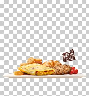Hamburger Fast Food Burger King Grilled Chicken Sandwiches Breakfast PNG