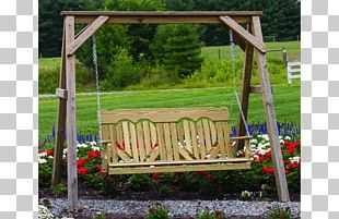 Swing Garden Furniture Porch Shed PNG