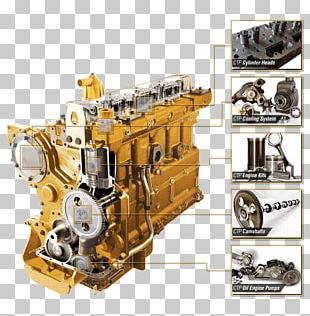Engine Caterpillar Inc. Costex Tractor Parts Heavy Machinery Aftermarket PNG