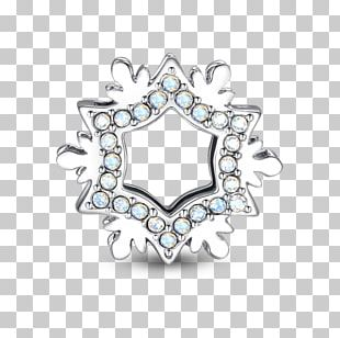 Body Jewellery Silver Brooch Platinum PNG