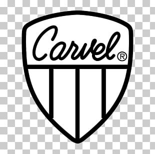 Logo Brand Ice Cream Carvel Font PNG