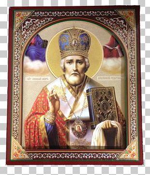 Saint Nicholas Icône Velikoretskaïa De Nicolas Le Thaumaturge Our Lady Of Kazan Myra Icon PNG