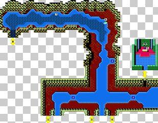 Crystalis Video Game Walkthrough Map StrategyWiki PNG