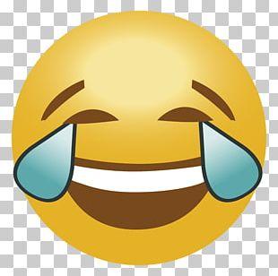 Emoticon Face With Tears Of Joy Emoji PNG