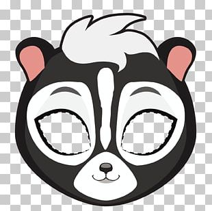 Skunk Mask Stock Photography Illustration PNG