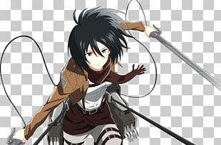 Mikasa Ackerman Eren Yeager Attack On Titan Armin Arlert Character PNG