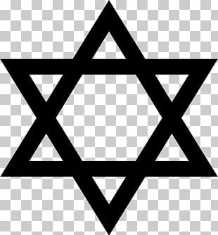 Star Of David Judaism Symbol PNG