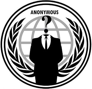 Anonymous Logo Security Hacker PNG