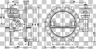 Butterfly Valve Nominal Pipe Size Flange PNG
