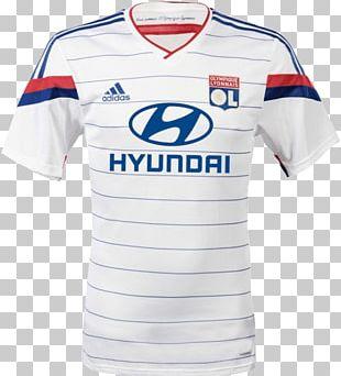 Olympique Lyonnais T-shirt 2014 FIFA World Cup Jersey PNG