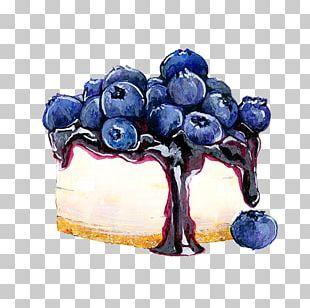 Tea Cupcake Cheesecake Blueberry PNG