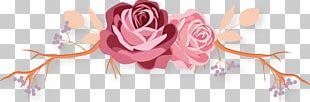 Flower Rose Logo Crown PNG