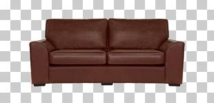 Couch Leather Sofa Bed Furniture Chair PNG