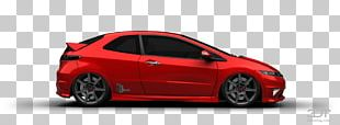 Honda Civic Type R City Car Rim Motor Vehicle PNG