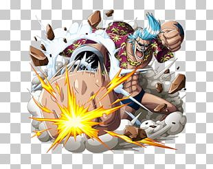 Franky One Piece Treasure Cruise Monkey D. Luffy Straw Hat Pirates PNG
