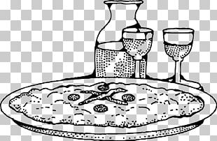 Pizza Italian Cuisine Wine Food Cheese PNG