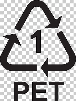 Recycling Symbol Polyethylene Terephthalate PET Bottle Recycling Recycling Codes PNG