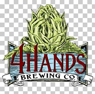 4 Hands Brewing Co Beer India Pale Ale Brewery Hops PNG