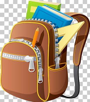 Backpack Bag Drawing School PNG