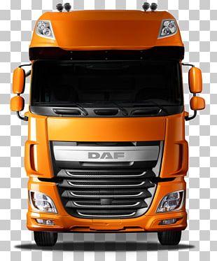 DAF Trucks DAF XF Car Van PNG