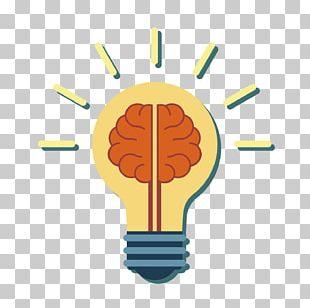 Incandescent Light Bulb Human Brain PNG