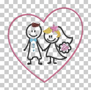 Drawing Love Embroidery Engagement Handicraft PNG