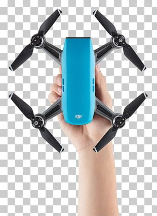 Mavic Pro DJI Spark Blue Unmanned Aerial Vehicle PNG