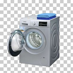 Washing Machine Home Appliance Siemens PNG
