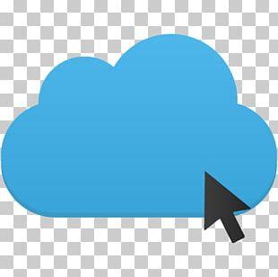Blue Heart Sky Aqua Computer PNG