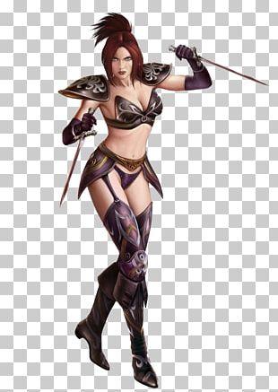 Runes Of Magic The Woman Warrior Figurine Legendary Creature PNG