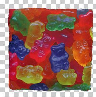 Gummy Bear Gummi Candy Gelatin Dessert Junk Food Gumdrop PNG