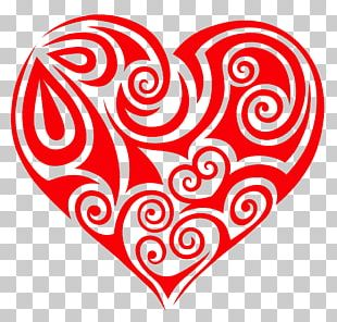 Love Heart Social Media Romance PNG