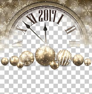 New Years Day New Years Eve Clock PNG