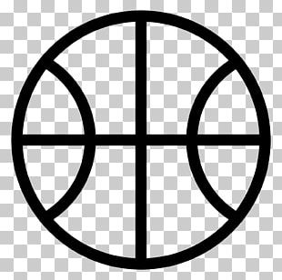 Basketball Court Sport Outline Of Basketball PNG
