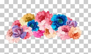 Flower Bouquet Cut Flowers Crown Headband PNG