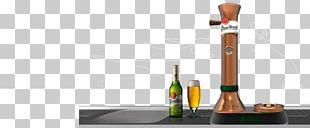 Pilsner Urquell Beer Tap Bottle PNG