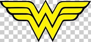 Wonder Woman Logo DC Comics Iron-on PNG