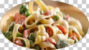 Pasta Salad Taglierini Fettuccine Alfredo Vegetarian Cuisine Rotini PNG