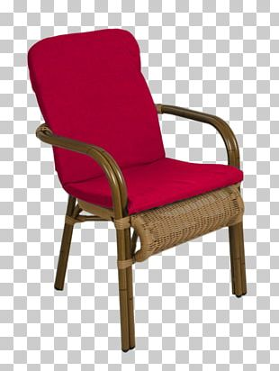 Wing Chair Pillow Garden Furniture Table PNG