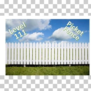 Picket Fence Synthetic Fence Gate Garden PNG