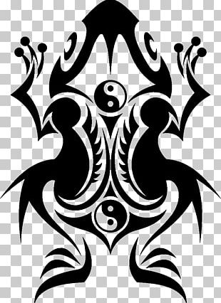 Frog Sleeve Tattoo Polynesia Black-and-gray PNG