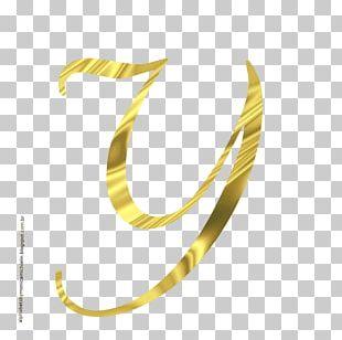Letter Alphabet Monogram Gold Font PNG