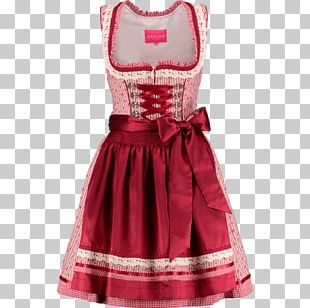 Dirndl Cocktail Dress Folk Costume Clothing PNG