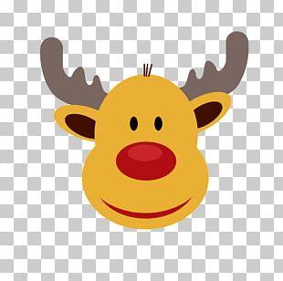 Rudolph Santa Claus's Reindeer Santa Claus's Reindeer Christmas PNG