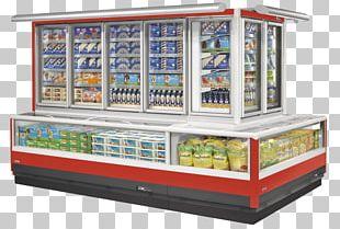 Ice Cream Display Case Frozen Food Display Window Baldžius PNG